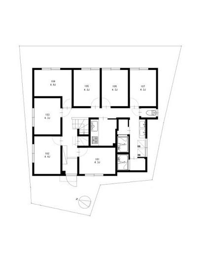 ヤドカリ桜台1階2